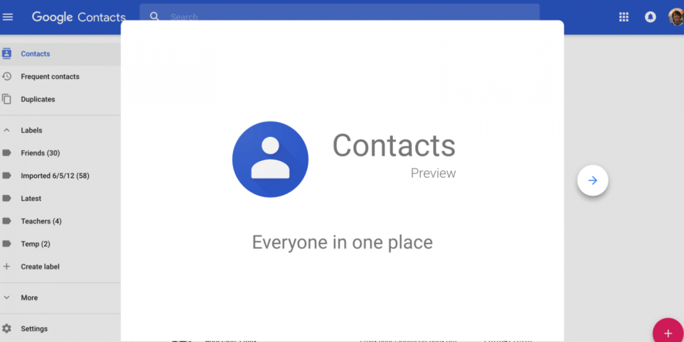 Image result for Contacts