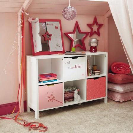 rangement chambre fille mobilier