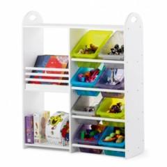 rangement enfant etagere et casiers rangement double pour chambre enfant fille ou garcon jpg