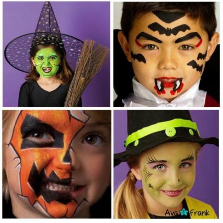 pochoir maquillage enfant pochoirs
