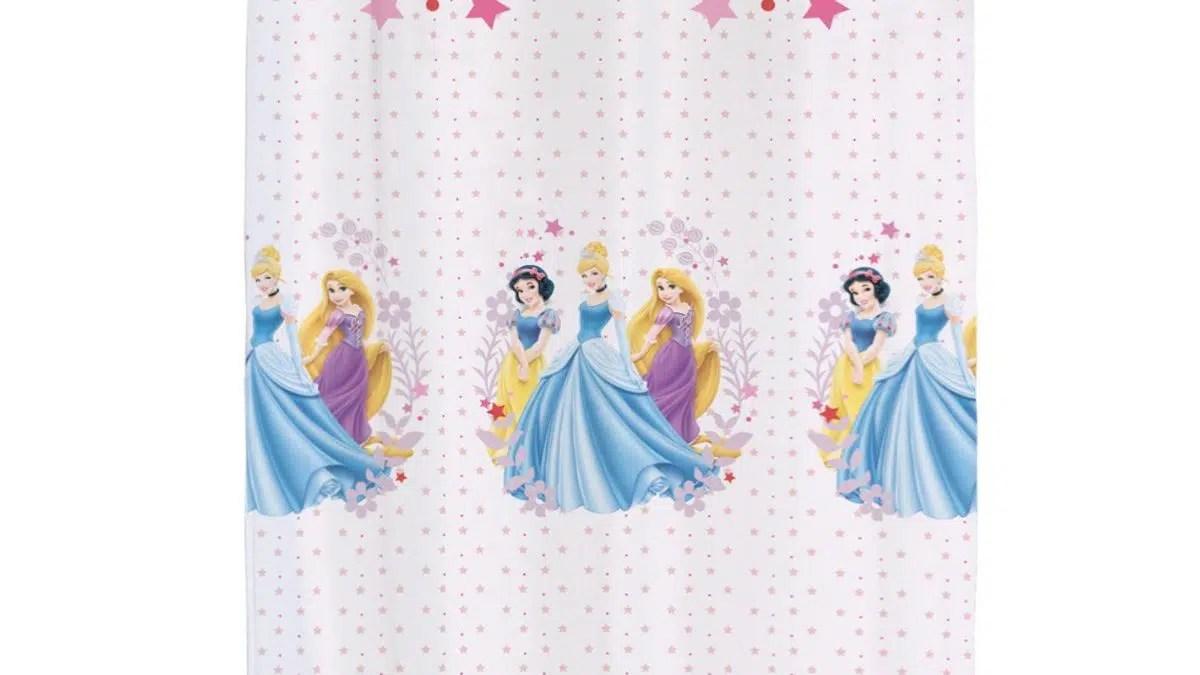 voilage princesses disney rideaux