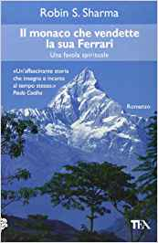 Il monaco che vendette la sua Ferrari, la copertina dell'edizione italiana