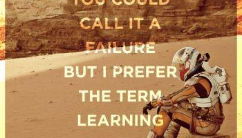 Imparare con l'esperienza. The Martian