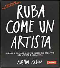 Ruba come un artista, la cover