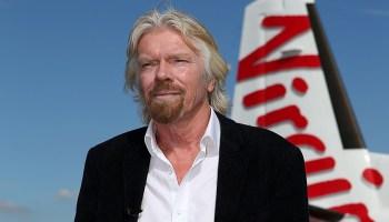 Richard Branson Imprenditore di successo