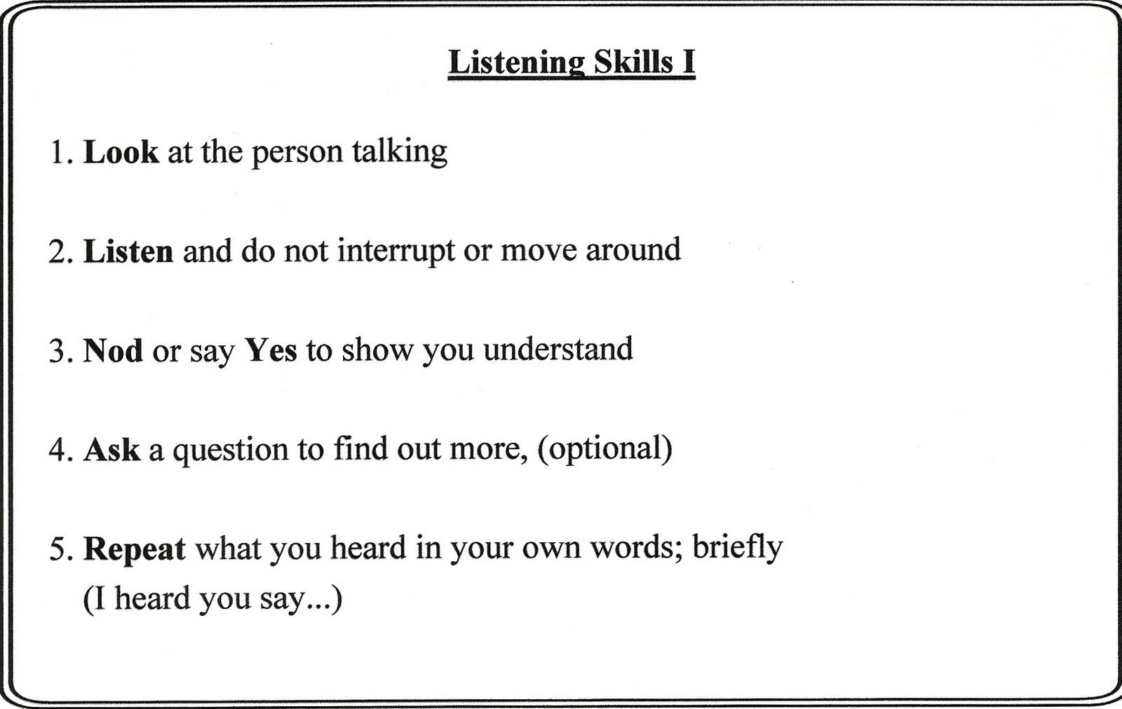 Listening Activities For Kids Worksheets