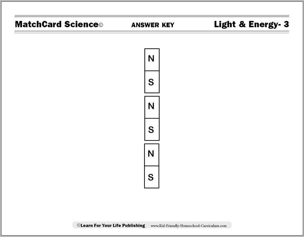 Magnets For Kids Worksheets