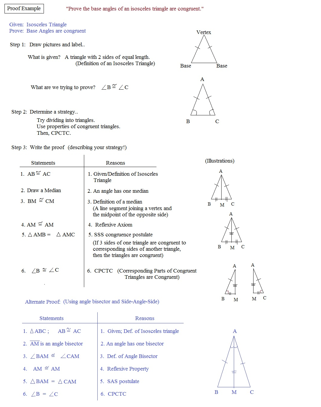 Congruent Triangle Worksheets Free