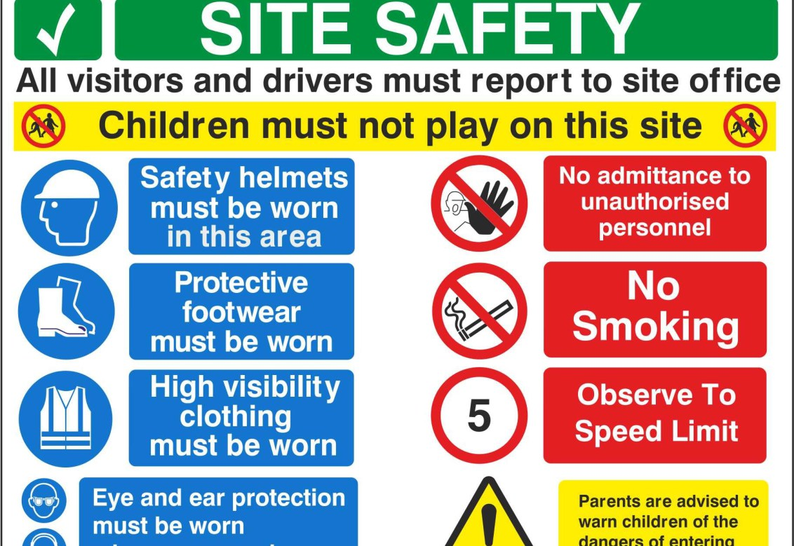 Printable Safety Signs Worksheet
