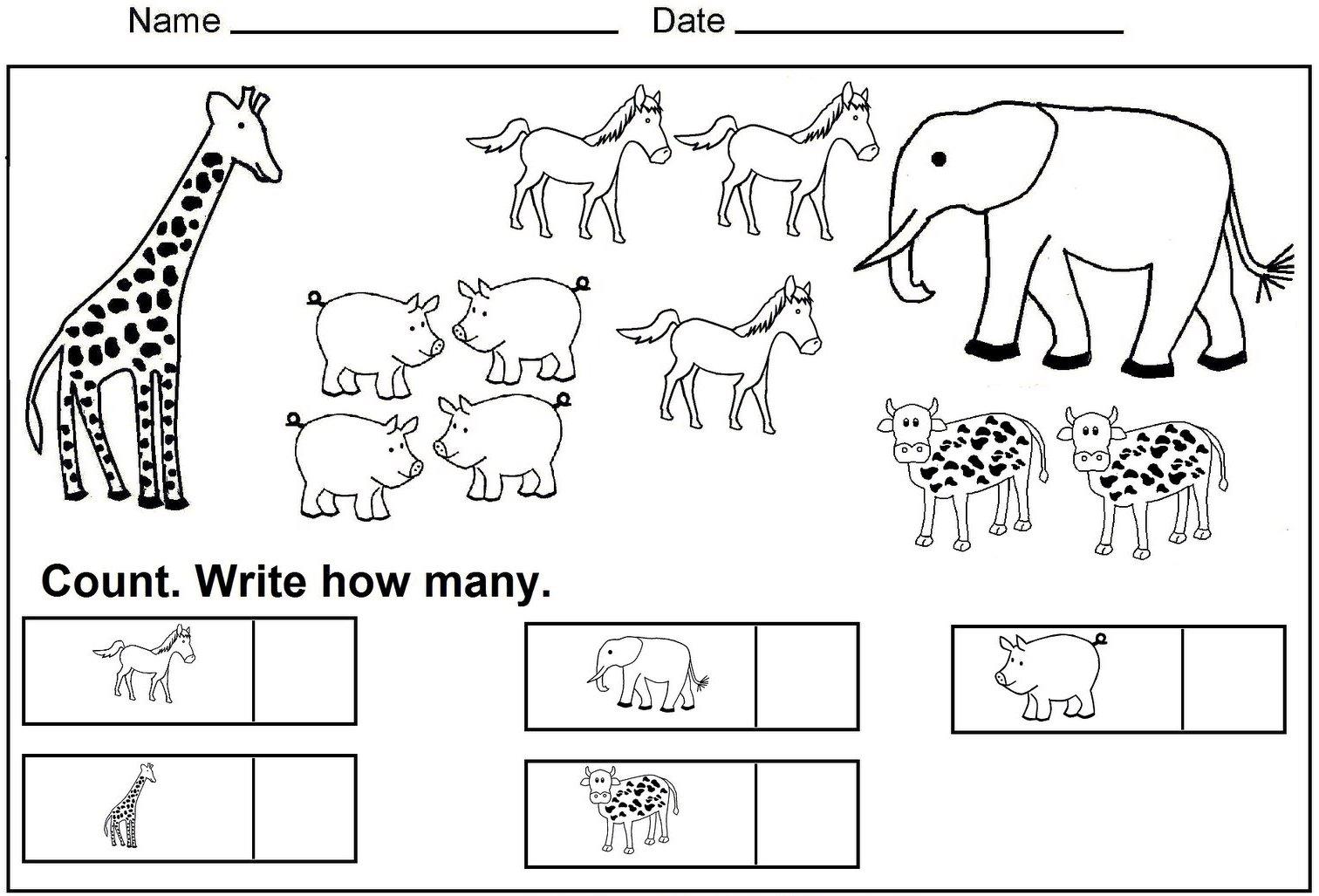 Kindergarten Geography Worksheets