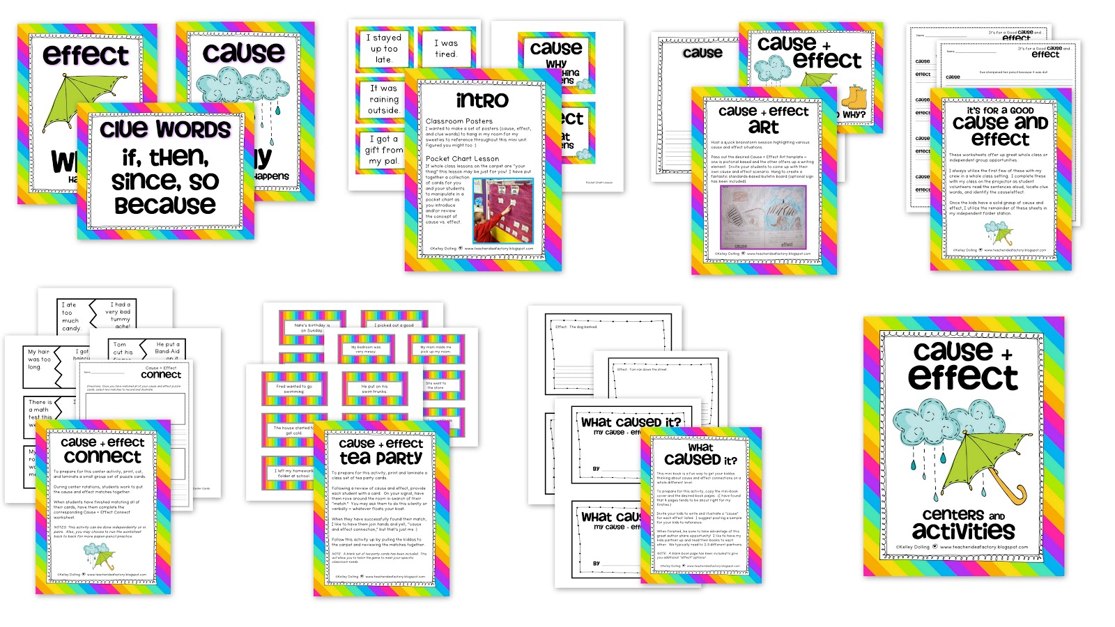 2nd Grade Cause And Effect Worksheets