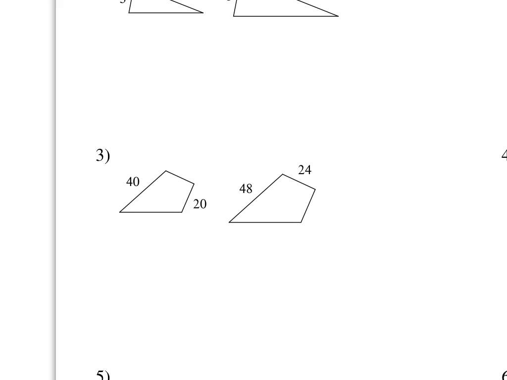 Scale Factor Worksheets 8th Grade