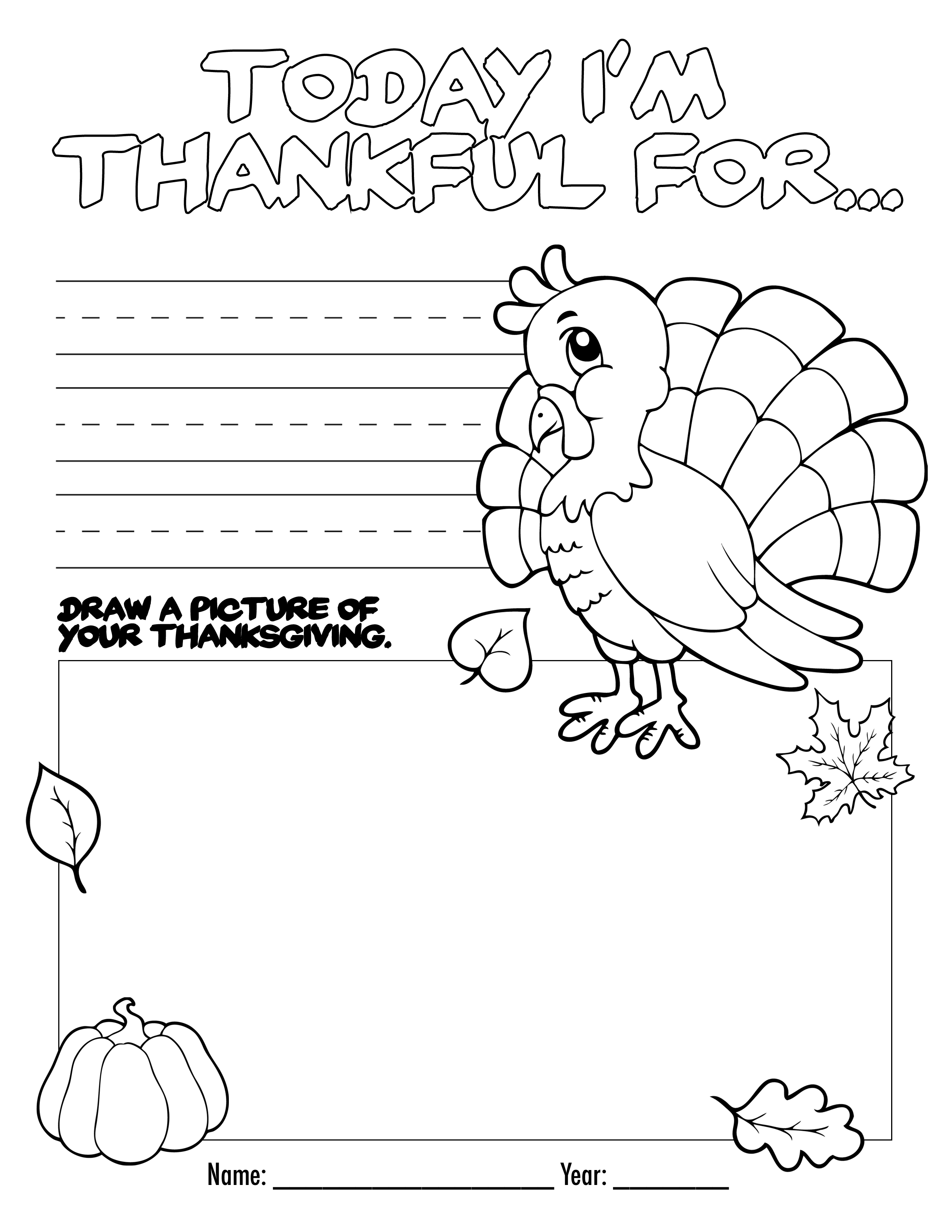 Thanksgiving 5th Grade Worksheets