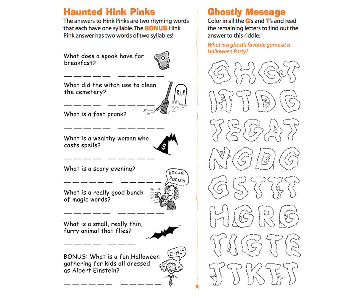 Worksheet Hink Pink Worksheets Mytourvn Worksheet Study