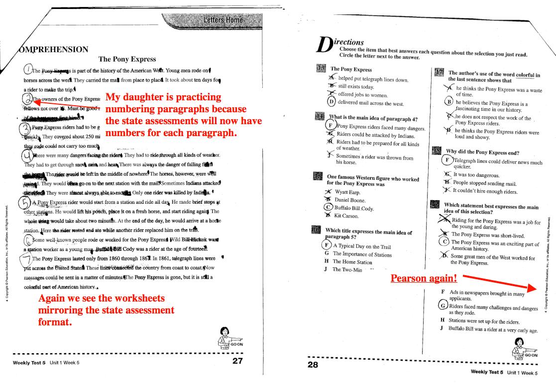 Pearson Education Inc 5 Worksheets