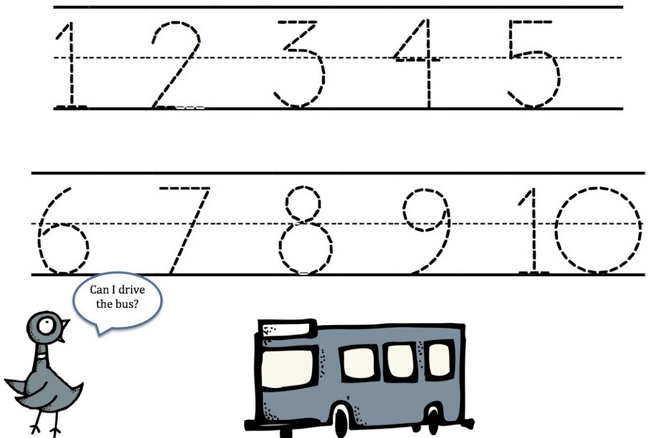 Number Tracing Worksheets 1 10 Photos Worksheets Samples