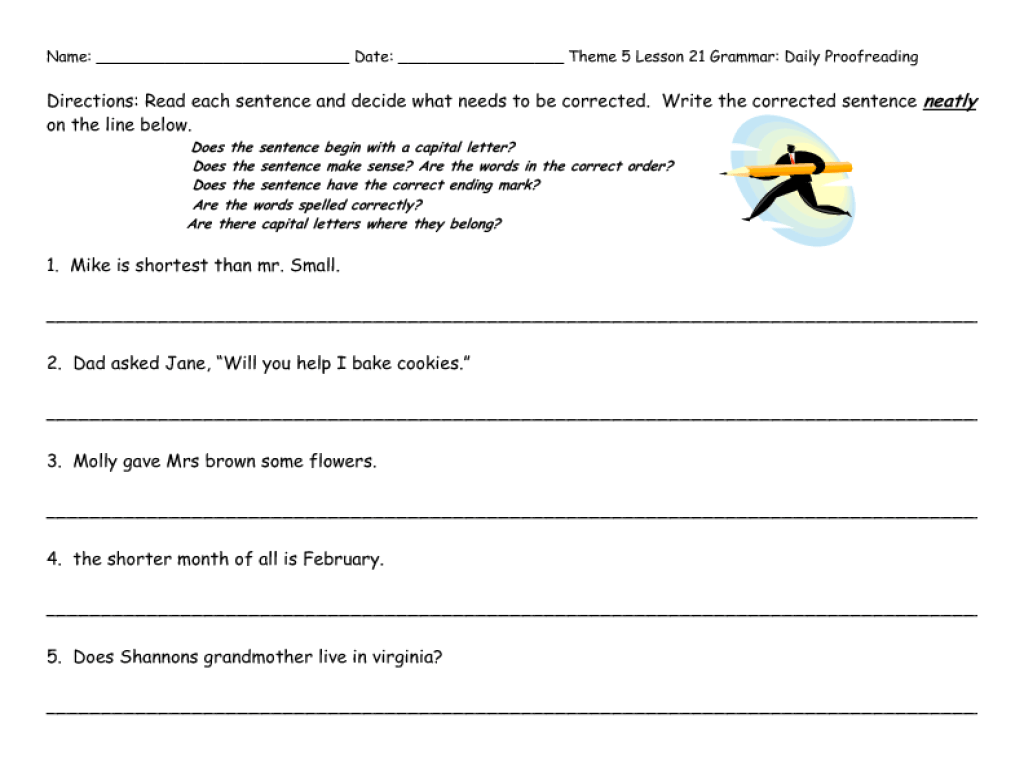 Theme Worksheets 6th Grade