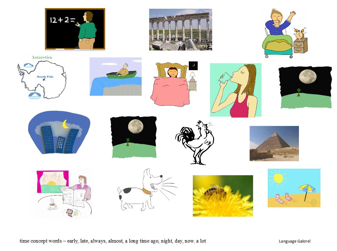 Time Concept Worksheets