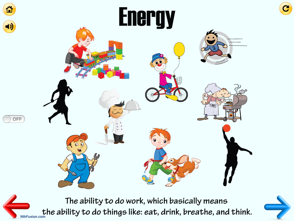 Energy Worksheets For 2nd Grade