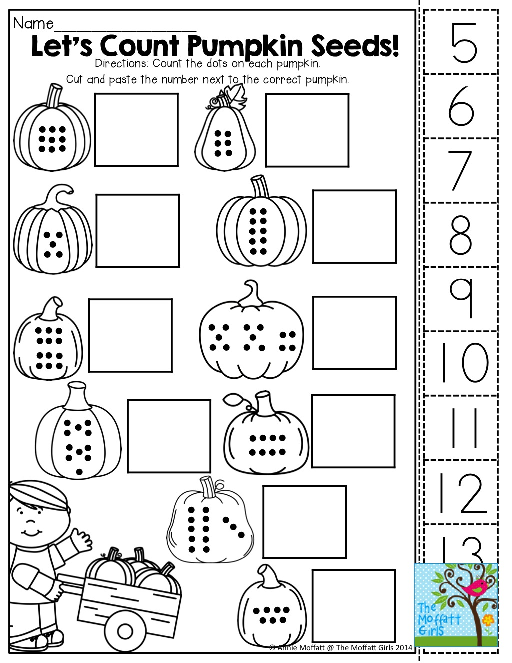 Cut And Paste Math Worksheets