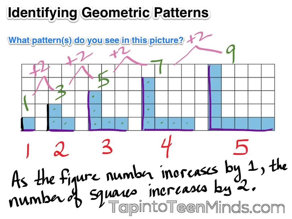 Patterns Worksheet Grade 11