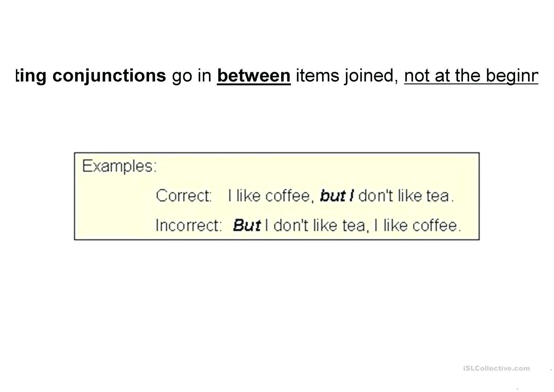 Correlative Conjunctions Worksheets 5th Grade
