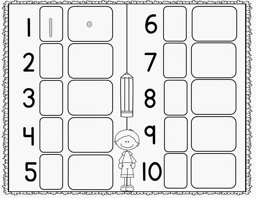 Number Sense Worksheets For Kindergarten