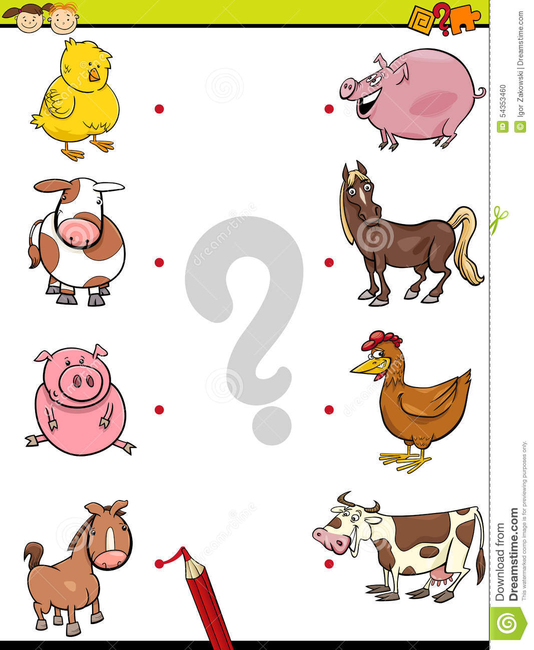 Mother Animals And Their Babies Worksheets