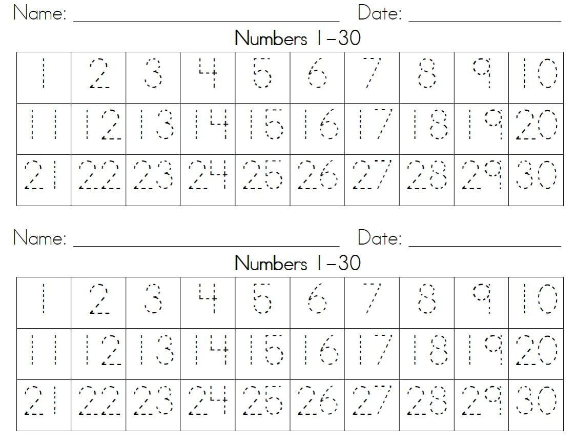 Spanish Numbers 1 20 Worksheet