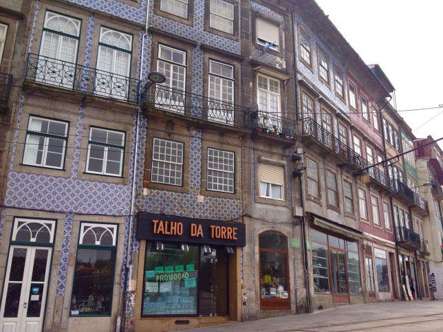 Casco viejo de Oporto