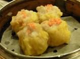 Dumplings con huevas de cangrejo