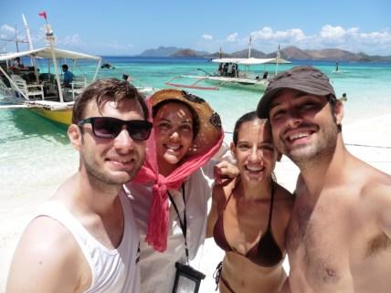 Con Monica y John de Island hopping