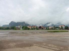 Pista de aterrizaje en Vang Vieng