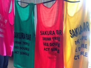 Camisetas del Sakura Bar