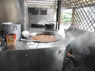 Comida para los monjes de Amarapura