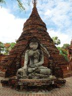Ruinas de las pagodas Yadana Hsini