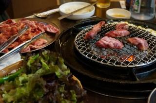 Barbacoa coreana de ternera