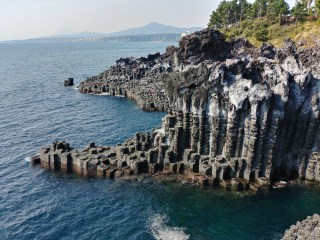 Formaciones de Jusangjeolli en Jeju
