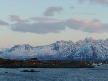 Desde el ferry hacia las islas Lofoten