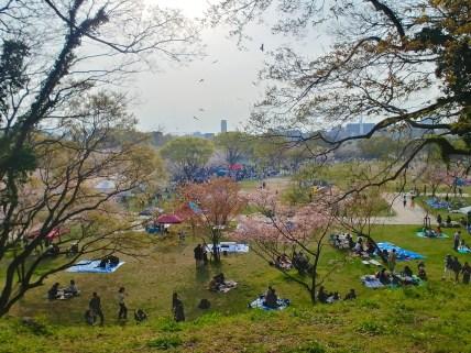 Parque Maizuru-kōen, Fukuoka