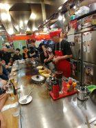 Okonomiyaki preparado por Kazuchan, Hiroshima
