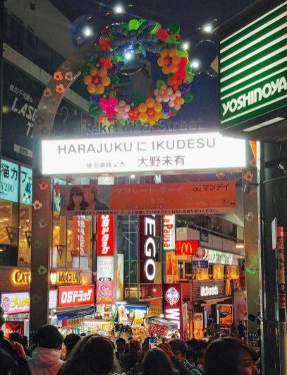 Takeshita Dori, Harajuku, Tokyo