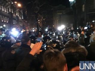 Поліція затримала прихильника Саакашвілі біля АП