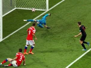 Збірна Росії програла команді Хорватії у серії пенальті у чвертьфіналі ЧС-2018