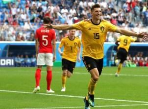 Бельгія вперше в історії виборола медалі чемпіонату світу з футболу