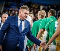 Мурзин покинул пост главного тренера сборной Украины по баскетболу