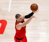 """Двадцать три очка Леня принесли """"Атланте"""" победу над лидером НБА"""