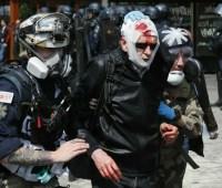 В Париже произошли столкновения полиции с митингующими