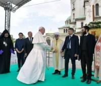 Папа Римский помолился святым Кириллу и Мефодию в Софии