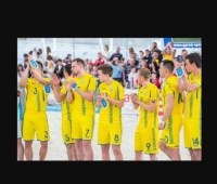 Сборная Украины по пляжному футболу вошла в топ-5 отборочного турнира Всемирных игр